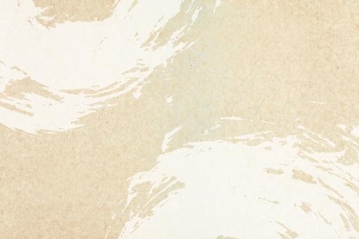 かすれの入った和紙の背景用素材の写真