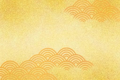 和柄 青海波の写真