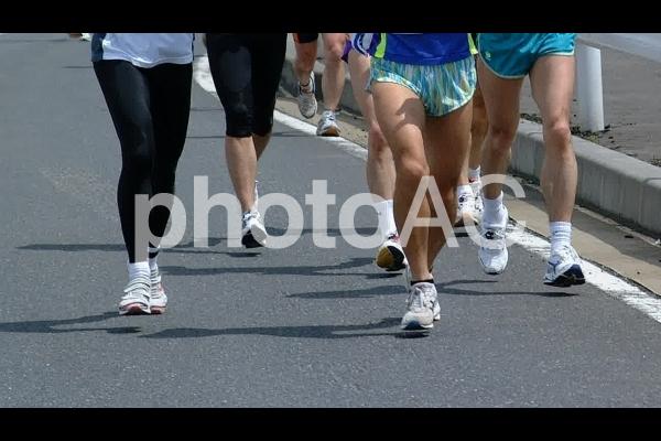 マラソン大会の写真