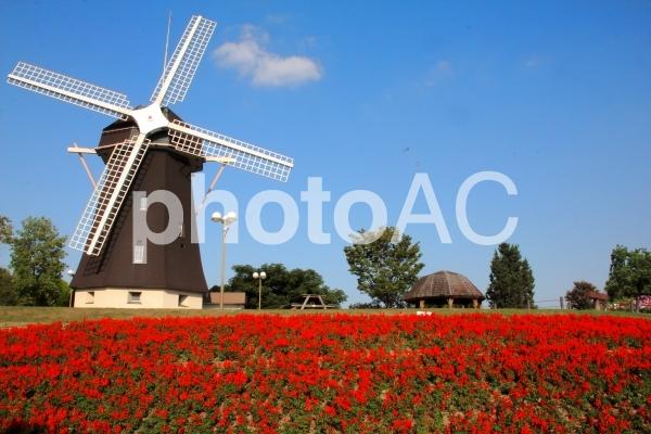 風車小屋の写真