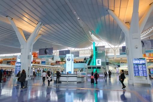 羽田空港 国際線ターミナルの写真