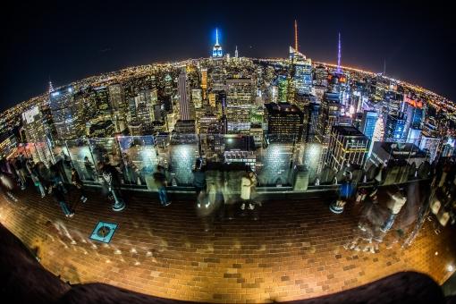 ニューヨーク・マンハッタンの夜景20の写真