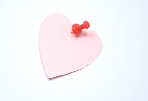 ハート メモ 画鋲 メッセージ 恋愛 コミュニケーション