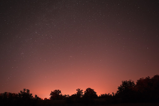 満天の星空6の写真