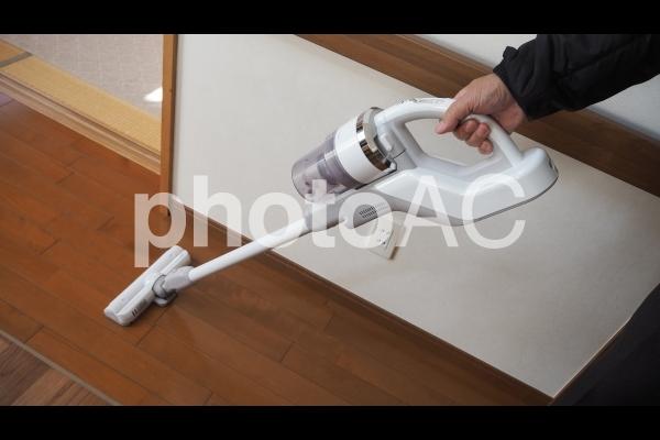 コードレス掃除機の写真