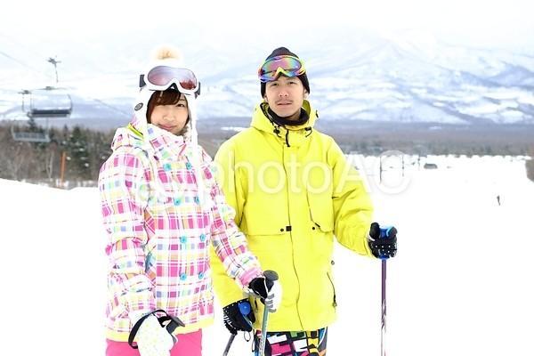 スキー場にて54の写真