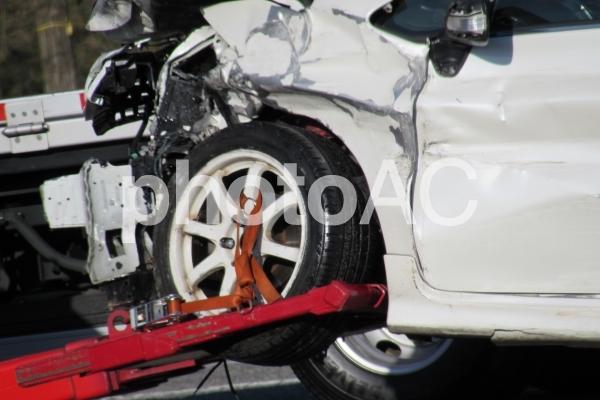 事故車両の写真