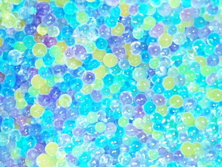 青 水 きらきら キラキラ ブルー ぷよぷよ ぷるぷる プルプル テクスチャ お菓子 背景 雨 コロコロ プルプル 丸 弾力 ひんやり 冷たい 冷んやり 夏 7月 8月 ソーダ アクア むらさき 紫 ビー玉 テクスチャ