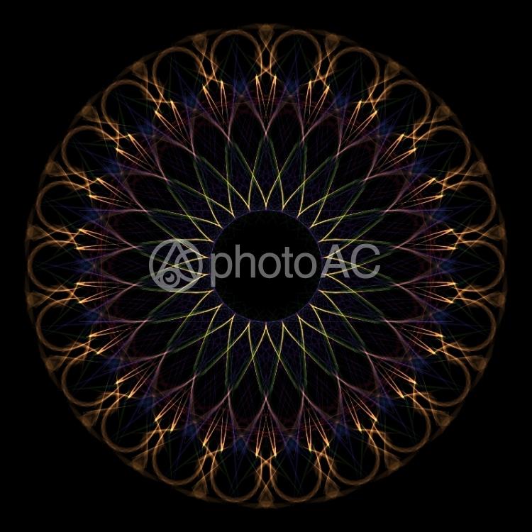 幾何学模様013の写真