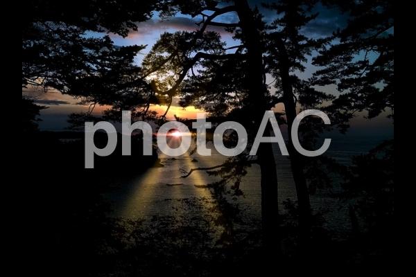 宮城県 気仙沼 三陸海岸の風景の写真