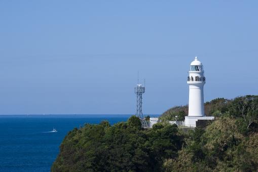 灯台 海 潮岬 本州最南端 和歌山