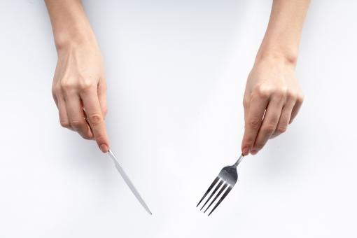 ナイフとフォーク1の写真
