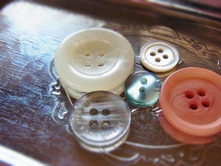 ボタン 裁縫 洋裁 手芸用品 白 グリーン グレー ピンク シルバー ガーリー かわいい 小物 雑貨 手芸 クラフト 背景