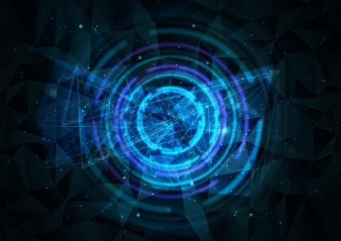 宇宙空間 サイバーイメージの写真
