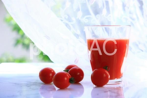 トマトジュースの写真