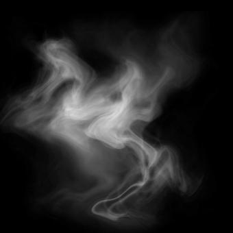 湯気 煙のイメージ psd レイヤー別 01の写真