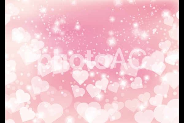 ハートピンクの輝き抽象背景素材テクスチャの写真