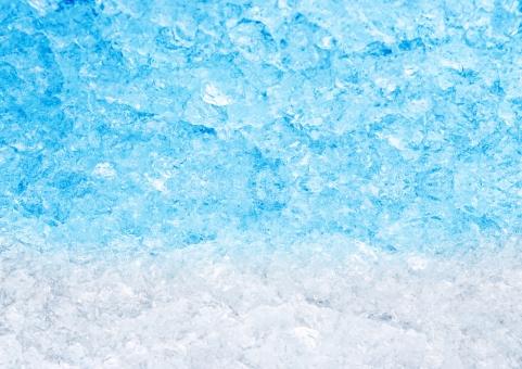 テクスチャ【かき氷ブルーハワイ】の写真