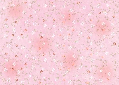 桃色 花 和柄 和風 ほのぼの 背景 テクスチャー テクスチャ 壁紙 雅 お正月 慶事 かわいい