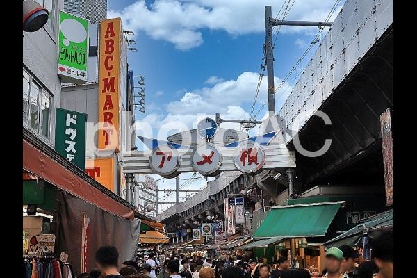 東京上野 アメ横の写真