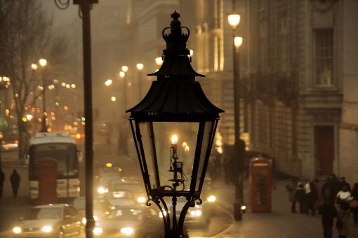 ガス灯の灯りに関する写真写真素材なら写真ac無料フリー