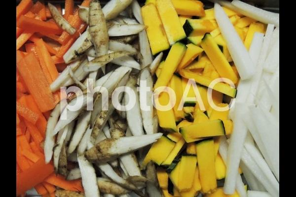 カット野菜の写真