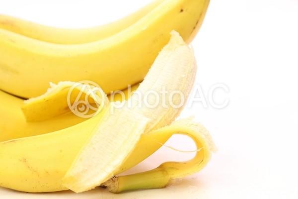 むいたバナナ1の写真