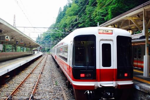 高野山 電車 鉄道 世界遺産 自然 和歌山 特急 こうや 緑 壮大 歴史 遺産 極楽橋 大阪