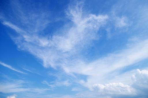 初秋の空の写真