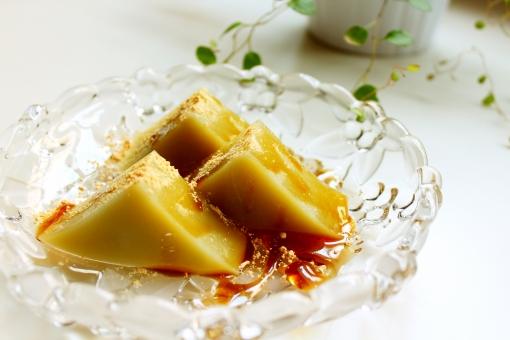 ういろう ウイロウ 抹茶 もっちり 手作り 黒蜜 きなこ きな粉 小麦粉 片栗粉 おやつ お菓子 デザート キッチン 夏 冷たいお菓子