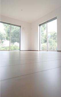 リビング 窓 フローリング リビングダイニング 居間 ldk 床 住宅 住まい 新築 家 部屋 ハウス 戸建 サッシ 家具なし