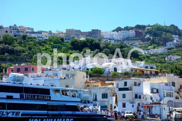 イタリア カプリ島の写真
