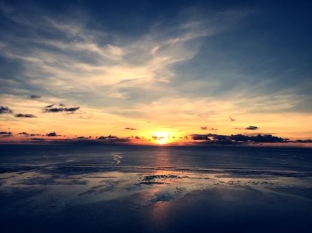 グアムの夕焼けの写真