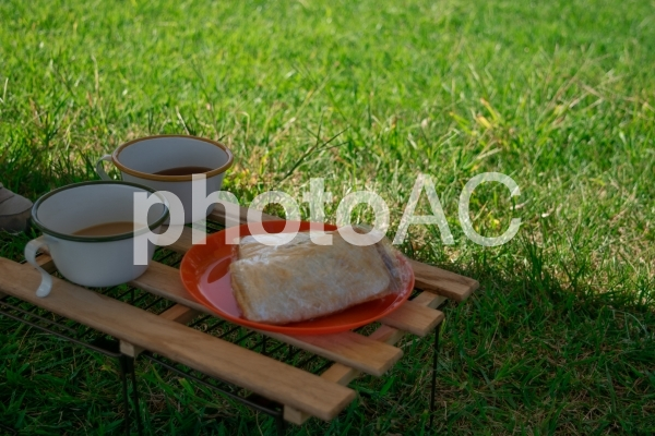 ピクニックランチの写真