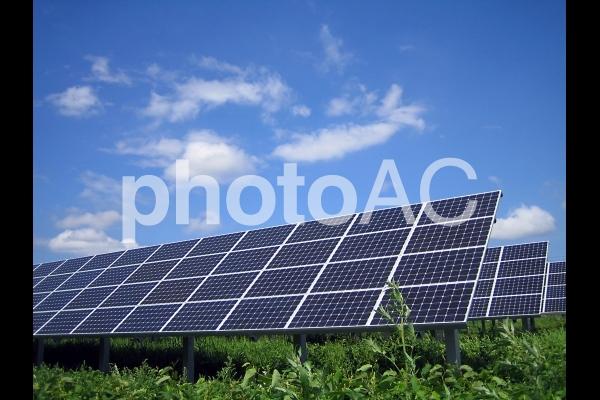 ソーラーパネル04の写真