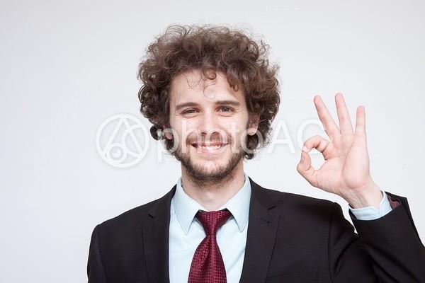 ハンサムな外国人ビジネスマン115の写真