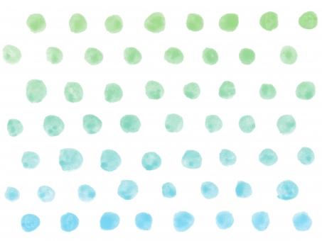 水彩 水彩画 絵の具 水彩絵の具 筆 ラフ フリーハンド 柄 模様 テクスチャー テクスチャ 背景 バック バックグラウンド ハンドメイド 手書き 手描き 手作り 手作り感 ナチュラル ガーリー かわいい 子ども さわやか 爽やか すっきり シンプル トレンド マリン 夏 明るい イメージ ドット ドット柄 水玉 水玉模様 グラデーション 寒色 涼しい 涼