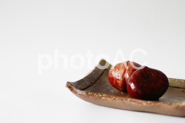 栗の渋皮煮の写真