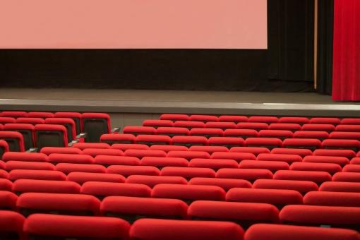 映画館内の写真