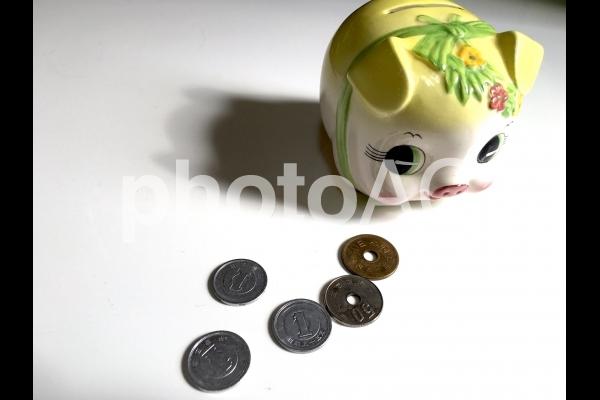 貯金の写真