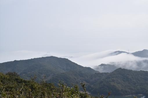 きり 霧 のうむ 濃霧 なると 鳴門 NARUTO 海峡 かいきょう とくしま 徳島 ひょうご 兵庫 あわじしま 淡路島 うみ 海 やま 山 すかいらいん スカイライン てんぼうだい 展望台