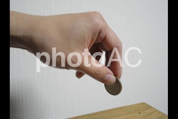 500円玉の写真