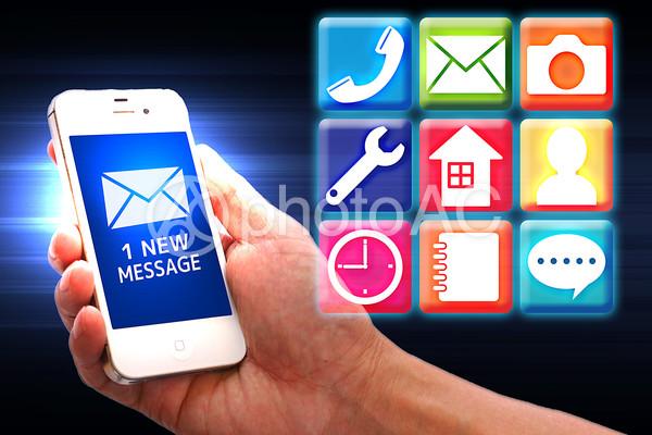 インターフェイス スマートフォン5の写真