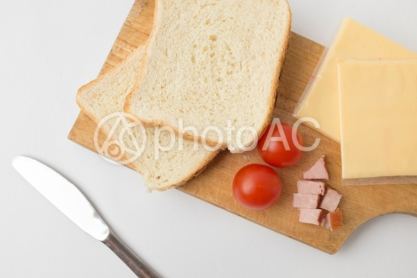 サンドイッチを作ろう1の写真