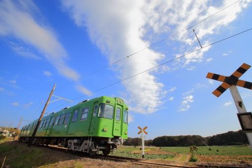 銚子電鉄の写真素材 写真素材なら「写真AC」無料(フリー)ダウンロードOK