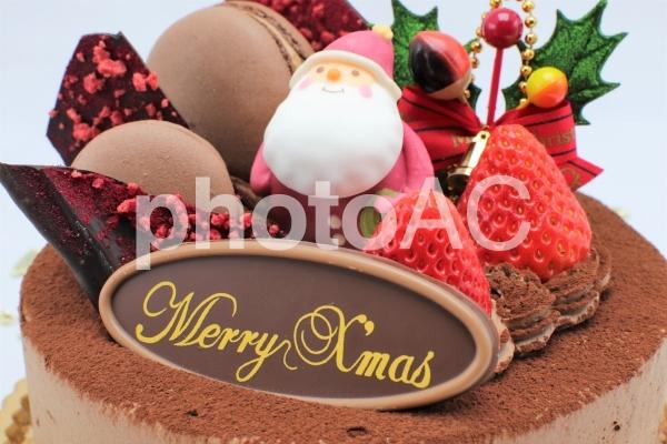 クリスマスケーキの写真
