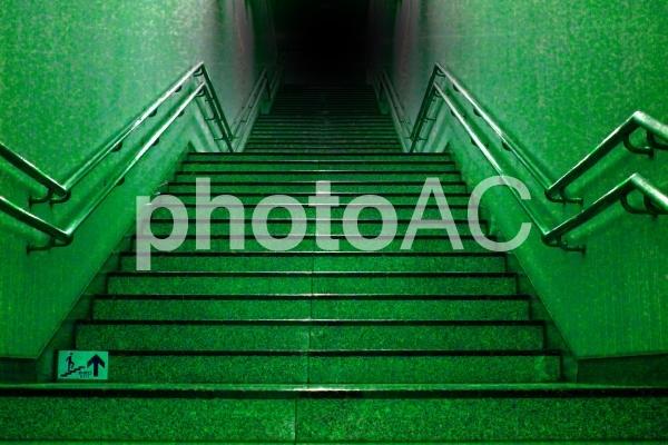 ホラー 不気味な階段の写真