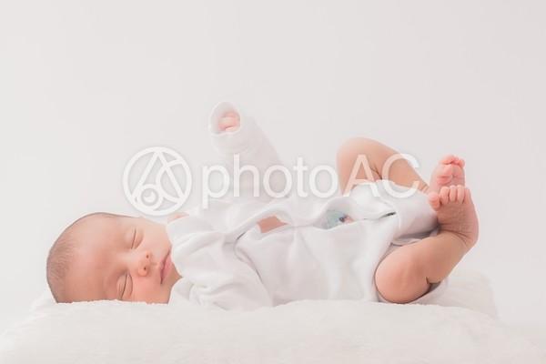眠る赤ちゃん4の写真