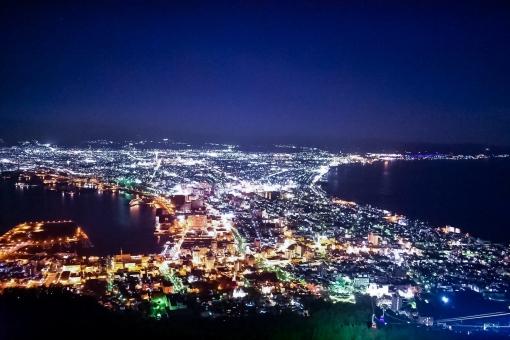 100万ドルの夜景の写真