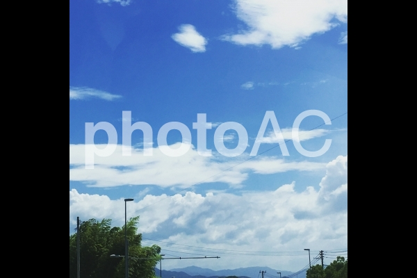 初夏の空の写真